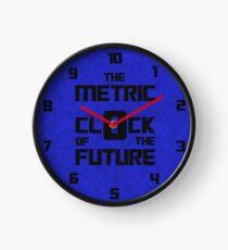 The Metric Clock of the Future Clock