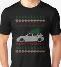 Camiseta ajustada WRX STI Hatch Ugly Christmas Sweater (GR)