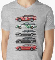 Stack of Alfa Romeo Alfetta GT and GTV6 T-Shirt