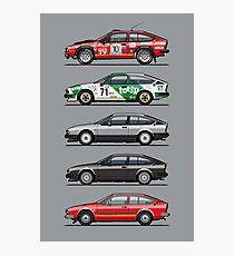 Stack of Alfa Romeo Alfetta GT and GTV6 Photographic Print