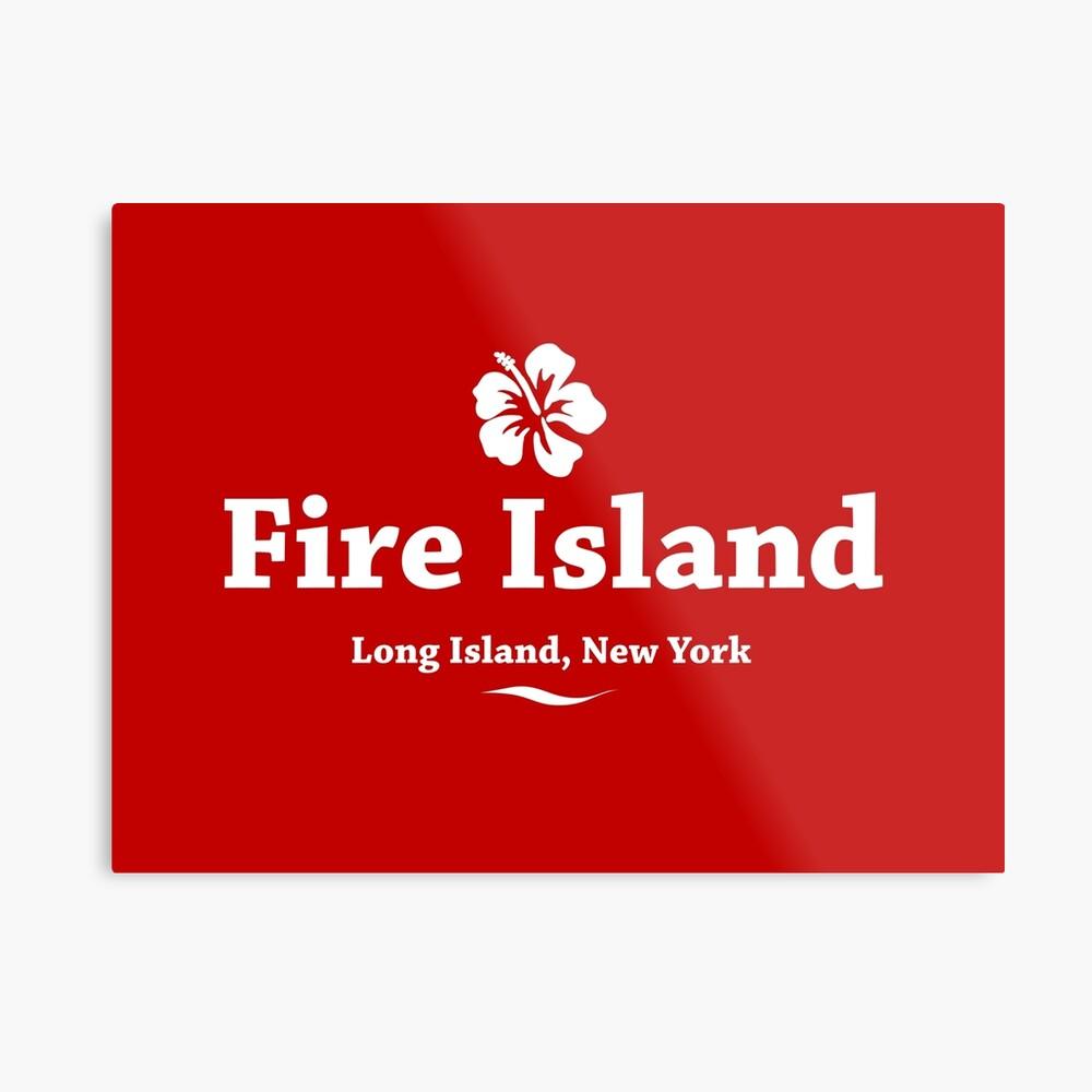 Feuerinsel, Long Island Metallbild
