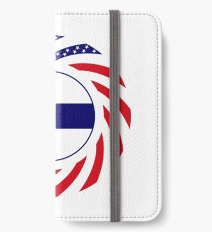 Finnish American Multinational Patriot Flag Series iPhone Wallet