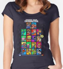 Warioware Mega Mix Women's Fitted Scoop T-Shirt