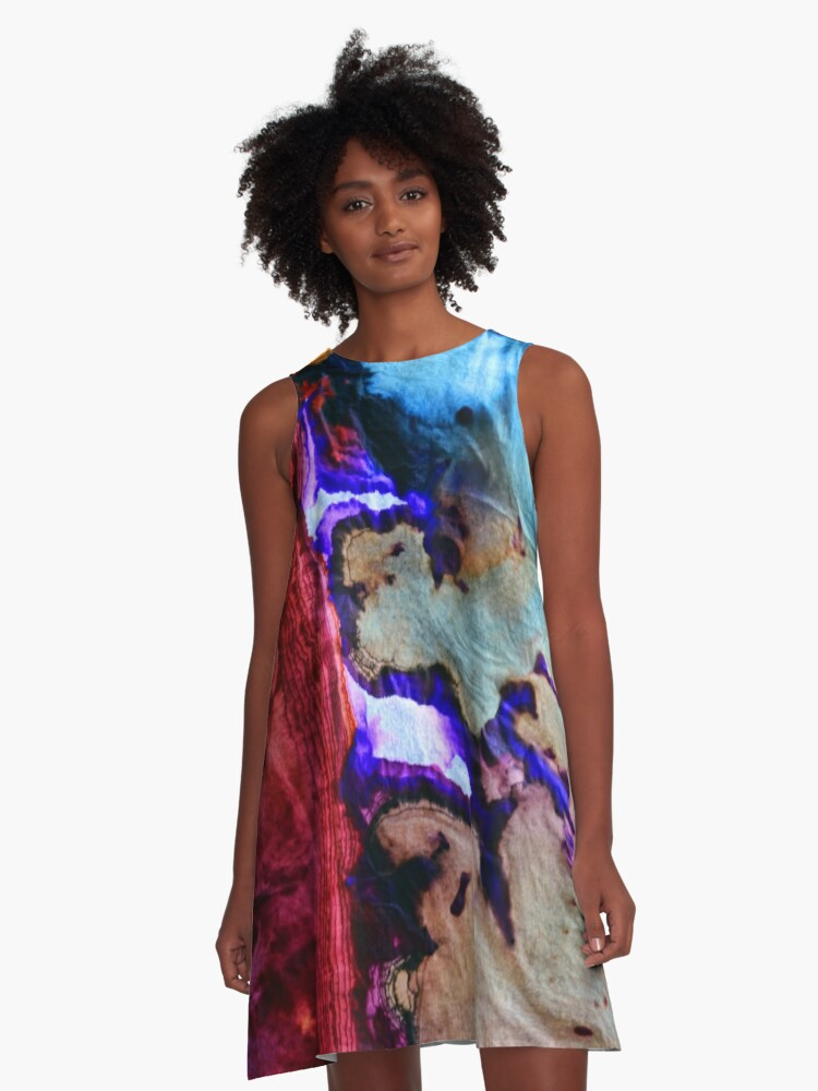 Inspired by Nature A-Line Dress Front