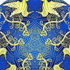 Spirit Animal Mandala by Rachael Burriss