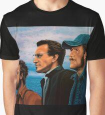 Richard Dreyfuss, Roy Scheider and Robert Shaw in Jaws Graphic T-Shirt