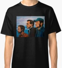 Richard Dreyfuss, Roy Scheider and Robert Shaw in Jaws Classic T-Shirt