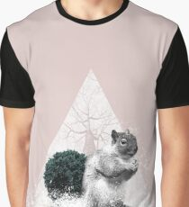 Squirrel, Forest Animal, Cute Animal Graphic T-Shirt