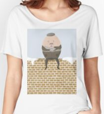 Humpty Dumpty's Cuppa Tea Women's Relaxed Fit T-Shirt