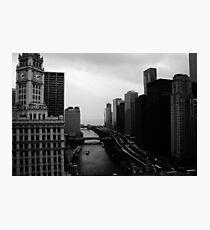 Chicago River Photographic Print