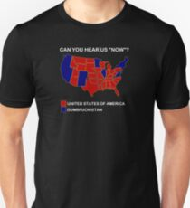 Election Map TShirts Redbubble - Us map election 2016 can you hear