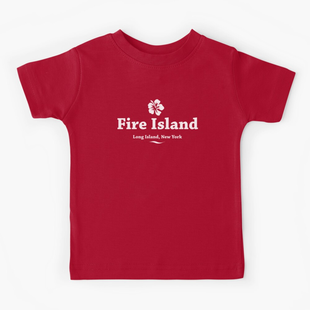 Feuerinsel, Long Island Kinder T-Shirt