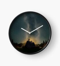Moments of happiness Clock
