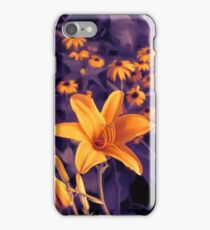 Tiger Lilies and Black-eyed Susan Flowers iPhone Case/Skin