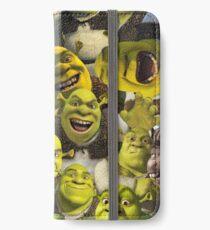 Shrek-Collage iPhone Flip-Case/Hülle/Klebefolie