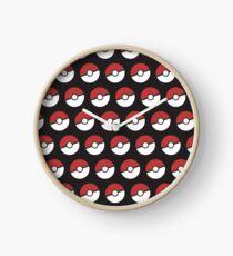 Pokemon Pattern Clock