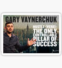 Gary Vaynerchuk Hustle Poster Sticker