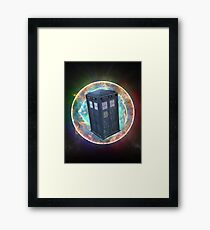 Time Vortex Framed Print