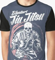 Jiu jitsu Horror Fighter Graphic T-Shirt