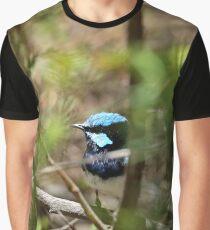 Superb Fairy Wren, South Australia Graphic T-Shirt