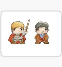 Merlin and Arthur Biddys.  Sticker