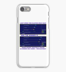 Science - Time Dilation iPhone Case/Skin