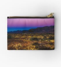 The colours of a Flinders Ranges sunset, South Australia Studio Pouch