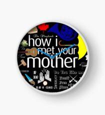 how I met your mother Clock