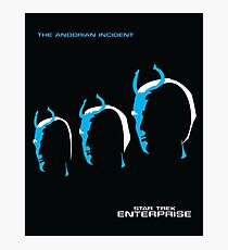 Enterprise | The Andorian Incident Photographic Print