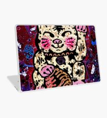 'Shiny Lucky Cat #2' Laptop Skin