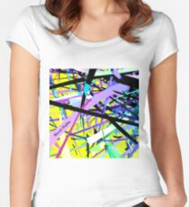 Curvy #13 Women's Fitted Scoop T-Shirt
