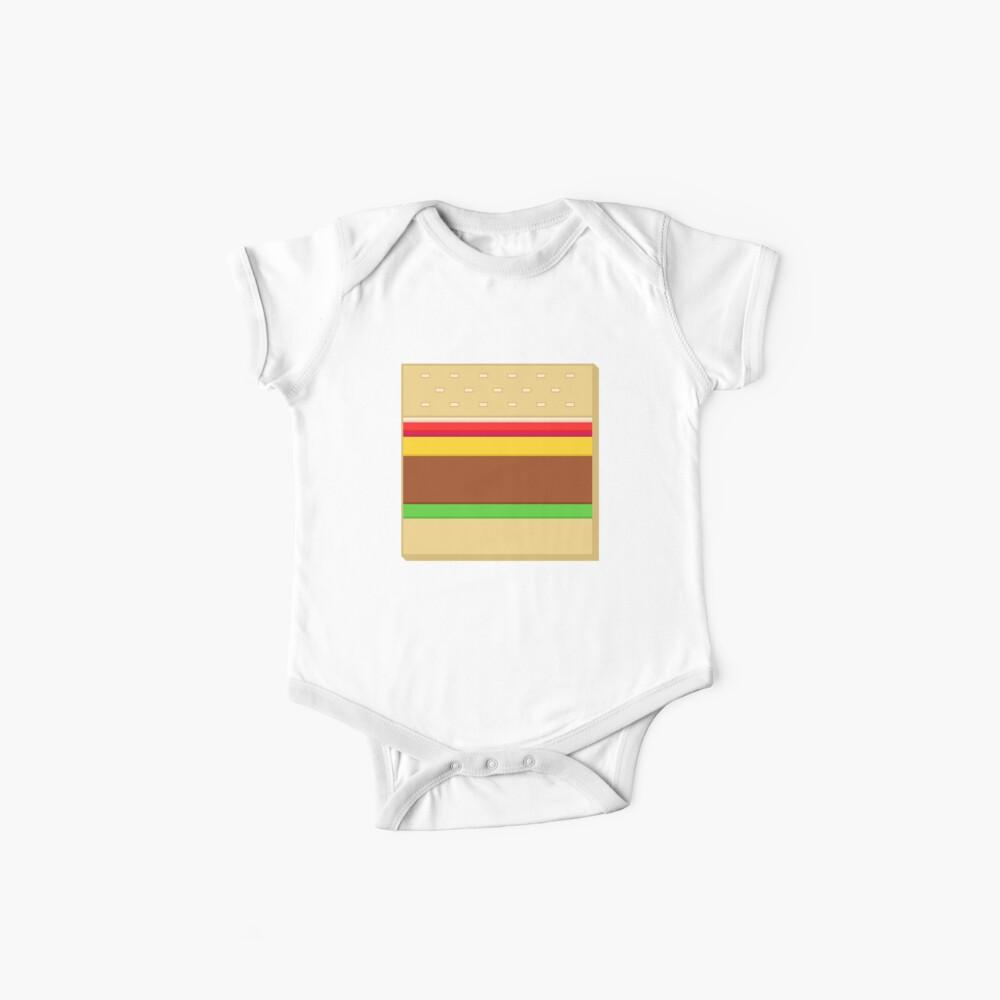 Box Hamburger Baby Bodys