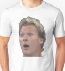Chris Jericho is suprised Unisex T-Shirt