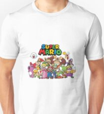 super mario all characters T-Shirt