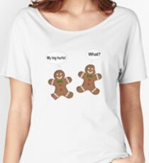 Christmas Gingerbread Men  Women's Relaxed Fit T-Shirt