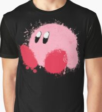 Kirby Splatter ~ ☆ Graphic T-Shirt