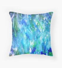 Beautiful Ocean Tide Pools - Raw Throw Pillow