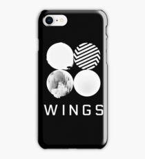 BTS Wings Logo (Black) iPhone Case/Skin
