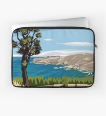 Taylor's Mistake, Christchurch by Ira Mitchell-Kirk Laptop Sleeve