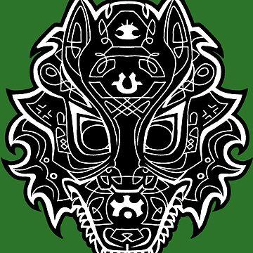 Dread Wolf by geeky-jez