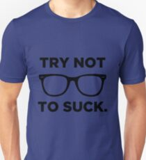 Joe Maddon Try Not To Black T-Shirt