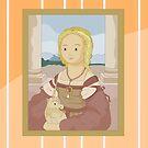 Lady with unicorn by Raphael by alapapaju