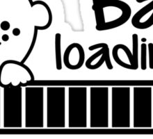 baby loading please wait stickers by cheesybee. Black Bedroom Furniture Sets. Home Design Ideas