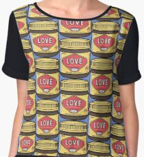 A Jar of Love Women's Chiffon Top