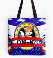 low-key tails Tote Bag