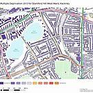 Multiple Deprivation Stamford Hill West ward, Hackney by ianturton