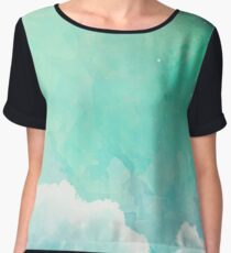 Above the sky Chiffon Top