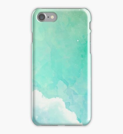 Above the sky iPhone Case/Skin