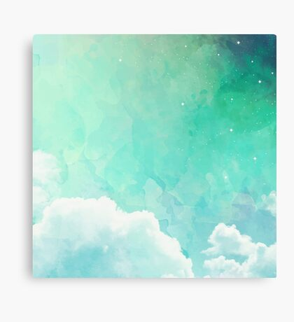 Above the sky Canvas Print