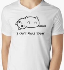 I Just Cannot Men's V-Neck T-Shirt